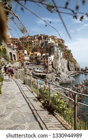 Manarola city in Cinque Terra national Park, Italy