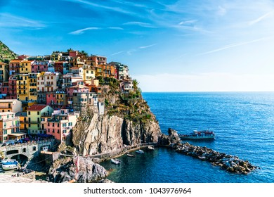 Manarola view, Liguria, Italy