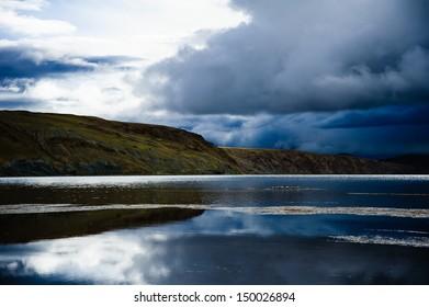 Manasarovar Lake, Tibet, China