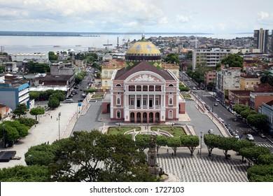Manaus Brasil and Teatro Amazonas