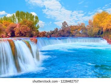 Manavgat Waterfall, Manavgat Antalya