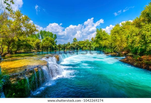 Wasserfall Manavgat in der Türkei