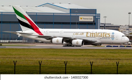 Manchester Airport | United Kingdom | December 03 2016 | Emirates A6-EEE