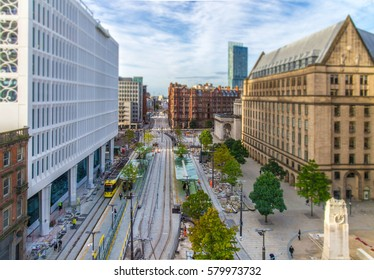 Manchester City Center Transport Links