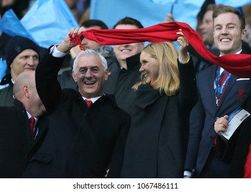 MANCHESTER, ENGLAND - APRIL 10: Former player Ian Rush during the Champions League quarter final match between Manchester City and Liverpool at the Etihad Stadium on April 10, 2018