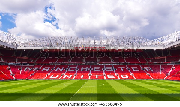 Old Trafford, home of Manchester United football club wall mural