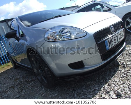 Manchester England March 31 Fiat Punto Stock Photo Edit Now