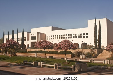 Manchester Hall at San Diego State University - a large public unviersity