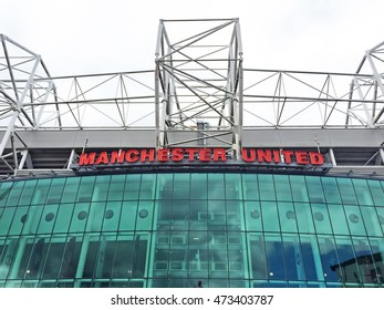 Manchester - July 27: Old trafford stadium, on July 27, 2016, Manchester, England.