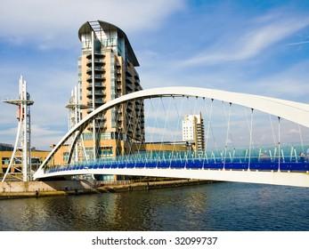 Manchester Lowry Bridge - Salford