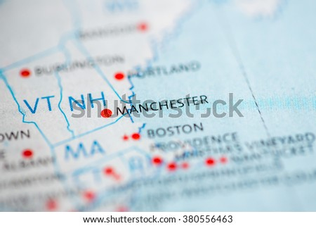 Manchester. New Hampshire. USA