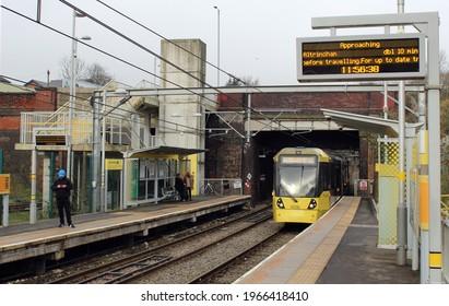 Manchester tram, Queens Road stop