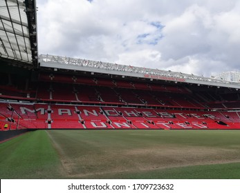 manchester united stadium images stock photos vectors shutterstock https www shutterstock com image photo manchester uk 6 june 2019 sir 1709723632