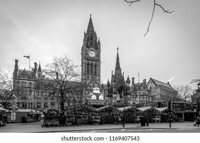 Christmas Market Manchester Images, Stock Photos & Vectors