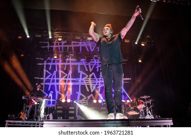 Manchester, United Kingdom, 11th October 2017, Papa Roach perform live at o2 Apollo Manchester Uk,