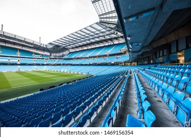 MANCHESTER/ENGLAND - 01 February, 2018 : Manchester City Football Club is the Premier League football club in Manchester. Founded in 1880. It is one of the richest football clubs.