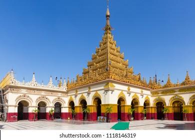 MANDALAY, MYANMAR - NOVEMBER 24, 2014: Mahamuni Paya, in Mandalay, Myanmar