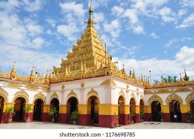 Mandalay pagodas and buddhism, Myanmar