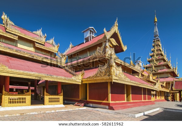 The Mandalay Palace, located in Mandalay, Myanmar, is the last royal palace of the last Burmese monarchy.