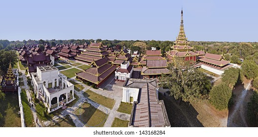 Mandalay Palace in Mandalay,Myanmar, is the last royal palace of the last Burmese monarchy