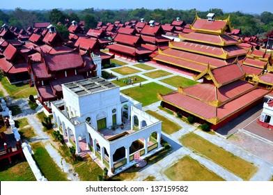Mandalay palace, Myanmar  Burma