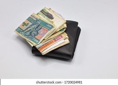 MANDALAY/MYANMAR - 07th January, 2020 : Myanmar Kyats Banknote, Money, Kyat Currency in Myanmar.