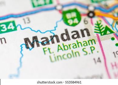 Mandan. North Dakota. USA