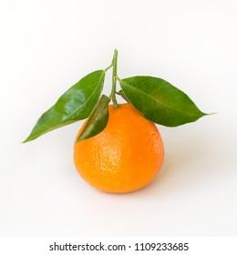 Mandarin fruit. Tangerine.