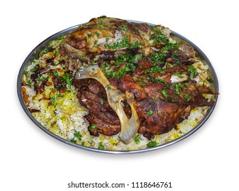 Mandi is a traditional dish from Yemen of meat, rice, and spices. It is now very popular in other areas of the Arabian Peninsula, and it is also common in Egypt and Levant and Turkey.