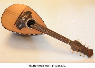 Mandolin instrument - Napoli, Italy - Shutterstock ID 1463363150