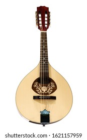 Mandolin isolated on white background - Shutterstock ID 1621157959