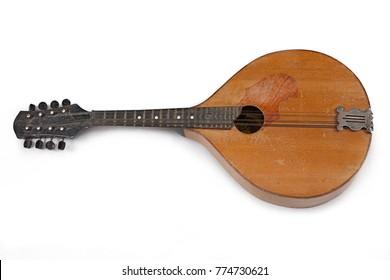 Mandolin on white background - Shutterstock ID 774730621