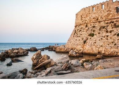 Mandrake harbor, Rhodes Island, Greece.