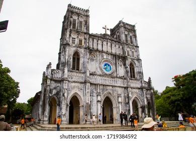 Mang Lang church, ancient gothic church in Phu Yen/Vietnam-2018