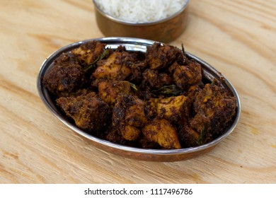 Mangalorean chicken sukka is a tasty, easy and simple chicken fry in Mangalorean style.