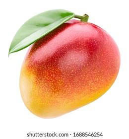 Mango fruit. Mango isolated on white background. With clipping path.