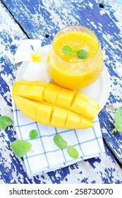 Mango juice.
