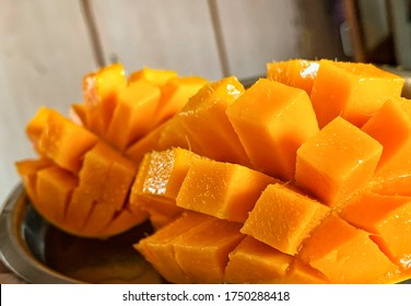 A mango is a juicy stone fruit produced from numerous species of tropical trees belonging to the flowering plant genus.