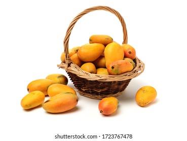 Mango on a white background