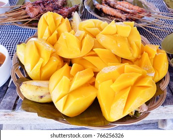 Mango that I ate in Cebu island hopping tour in Philippines