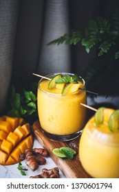 Mango and Turmeric Lassi Smoothie Ingredient