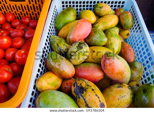 Mangoes Sale Fruit Store Township African Stock Photo Edit Now