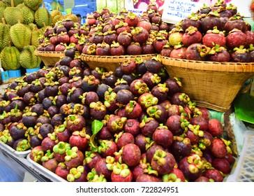 Mangosteen Fruit Queen of Thailand