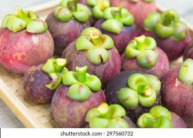 Mangosteen thai fruit