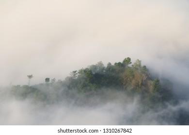 mangunan hill in Yogyakarta