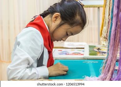 The Mangyongdae School Children's Palace, Pyongyang, North Korea, May 22, 2018
