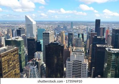 Manhattan Architecture in New York ,USA