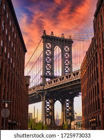 manhattan bridge. 11/06/2015 New York, USA