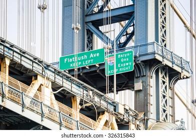 Manhattan bridge, New York City, United States of America