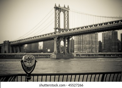 Manhattan Bridge in NYC